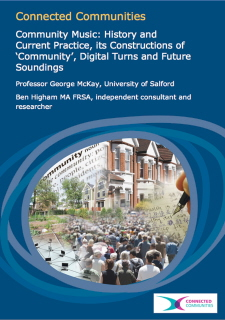 AHRC commuity music report cover 2011