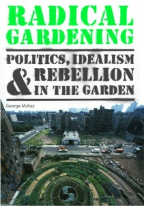 Early draft cover, showing Adam Purple's Garden of Eden, NYC squatted community garden (destroyed in 1986)