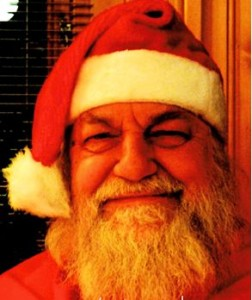 Robert Wyatt as Santa Claus 2010