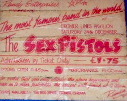 Sex Pistols 1977 ticket