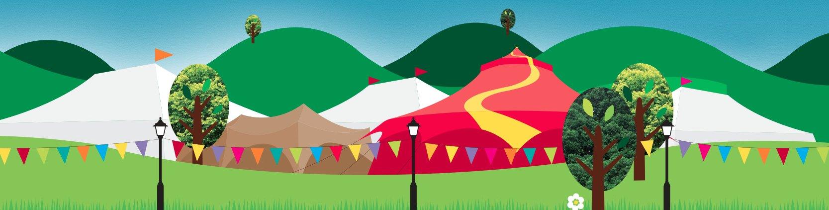 Cheltenham Festivals landscape