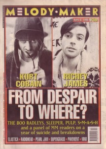Melody Maker kurt-and-richey-cover-april-8th-1995
