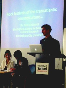 Dr Nick Gebhardt's paper on transatlantic festivals
