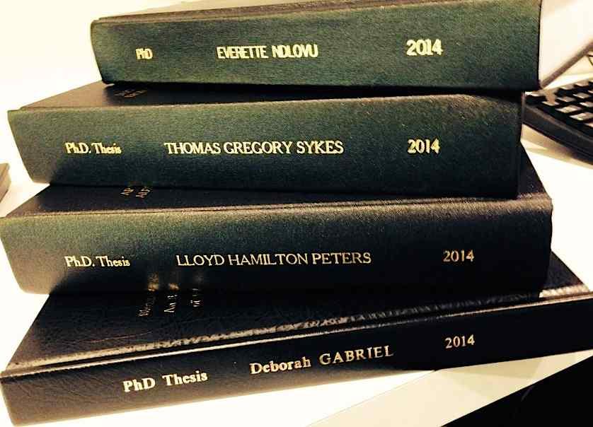 Georgetown university phd thesis