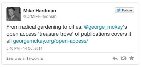 open access tweet
