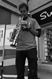 Dr Nick Gebhardt plays at Lancaster Jazz Festival