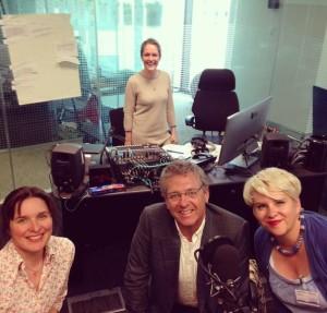 Guardian podcast studio shot 2015