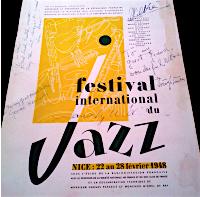 Nice Jazz Fetival 1948 programme