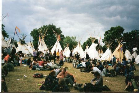 Tipi Circle, Glastonbury Festival, 2000 lo res