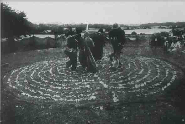 spiral dance Lyng fair 1982