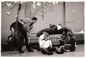 working with Community Music East, 1986