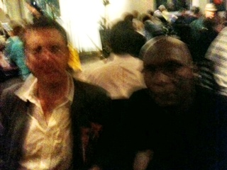apolos for blurred image, only one I have of the interview: with David Rohoman