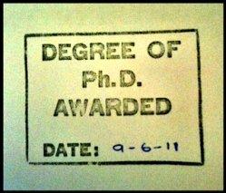 University of Salford PhD