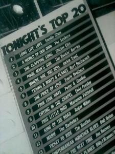 TOTP 1960s chart