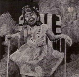 Kata Kolbert, 1987 single cover, 'Live your life'