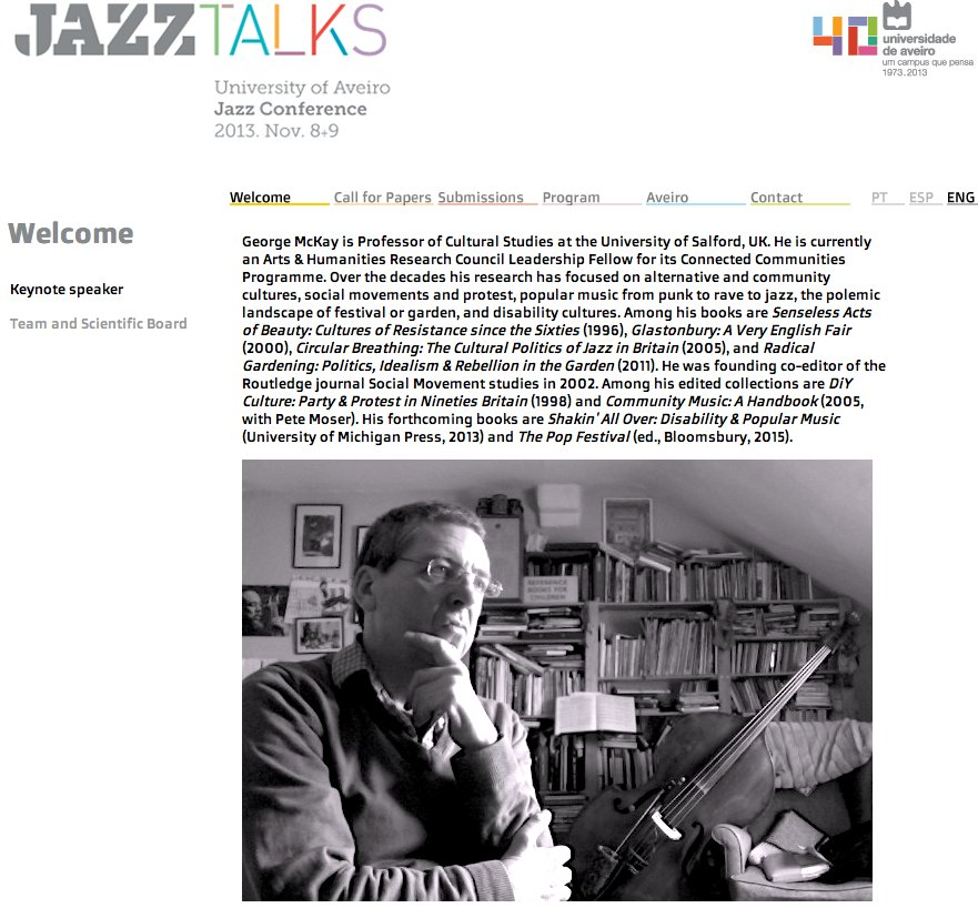 Jazz Talks keynote screenshot