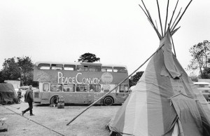 Festival/traveller culture, c 1985 (c) Alan Lodge