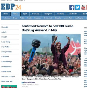 EDP report Big Weekend
