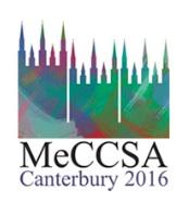 MeCCSA 2016 logo