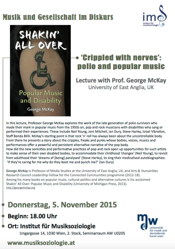 Vienna lecture poster