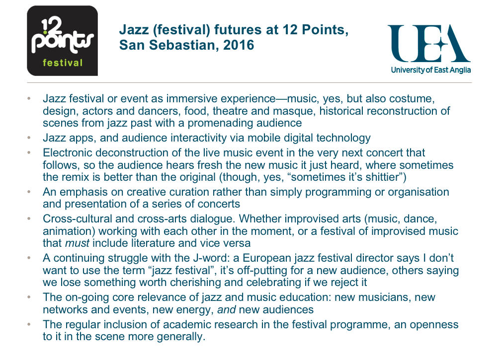 impact of cultural exchanges jazz and